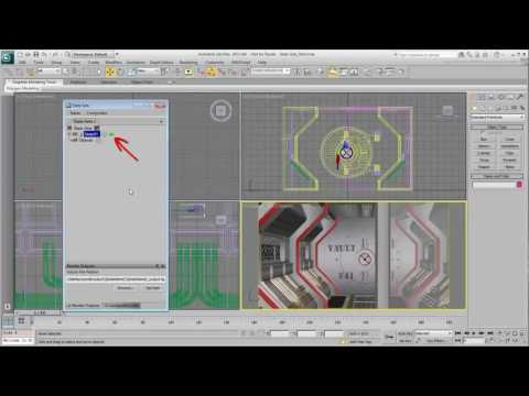 CGI 3D Tutorials : 3ds Max Using State Sets Part 1 Introduct