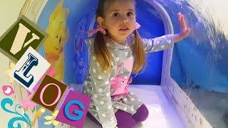 Детский развлекательный центр с горками и батутами/Покупаем одежду для  Беби Борн