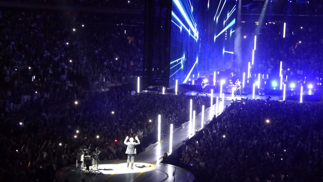 with or without you u2 madison square garden july 22 2015 - U2 At Madison Square Garden
