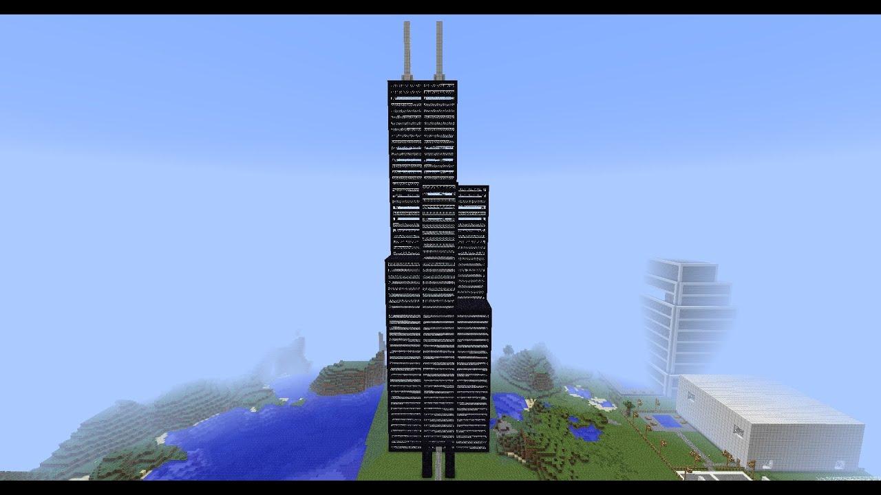 Minecraft Willis Sears Tower Youtube