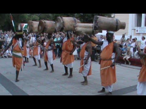 """Royal Burundi Drums"" - Burundi (2/3) [Međunarodni festival folklora Karlovac 2017]"