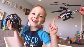 Father & Son GET CRAZY RC HELICOPTER!