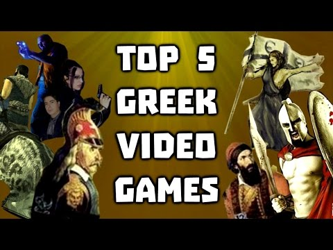 Top 5 Greek Video Games