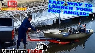 Easy Way to Launch a Pro Angler!