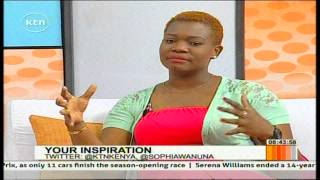 Inspiration with Radio Maisha radio presenter Tina Koroso