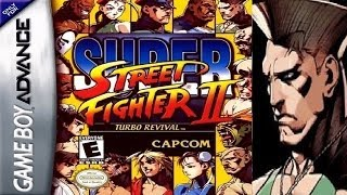 Super Street Fighter II - Turbo Revival - Guile (GBA)