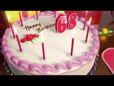 Поздравления с Днем рождения 68 лет женщине, мужчине