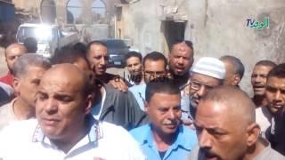 بالفيديو ولصور.. محافظ القاهرة يتابع هدم مدابغ مجرى العيون