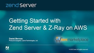 Getting Started with Zend Server and Z-Ray on AWS