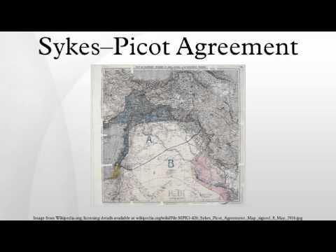 Sykes--Picot Agreement