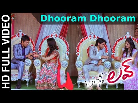 100 % Love Movie  Dhooram Dhooram  Song  Naga Chaitanya, Tamannah