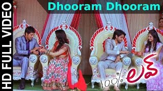100 % Love Movie || Dhooram Dhooram Video Song || Naga Chaitanya, Tamannah