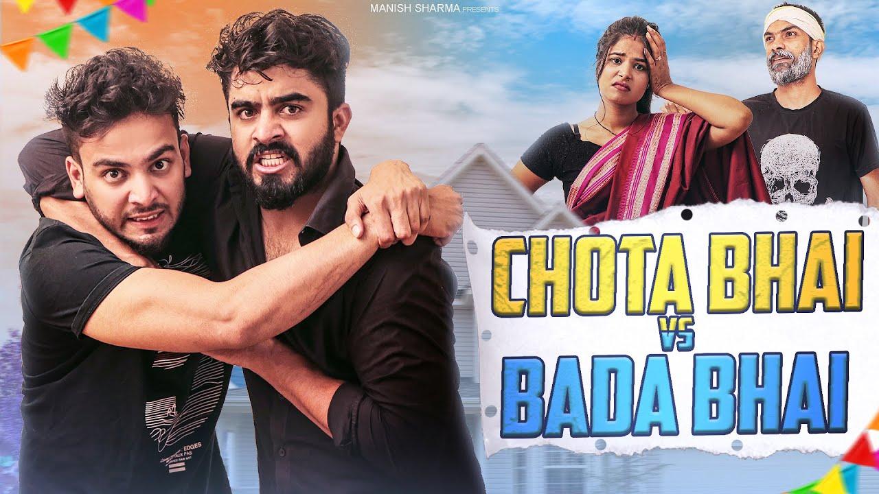 Chota Bhai Vs Bada Bhai Feat. Elvish Yadav    Half Engineer
