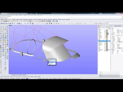 Third presentation to the MFA by Tecsew on 3D CAD design