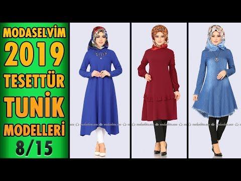 #Modaselvim 2019 Tesettür Tunik Modelleri 8/15 | #Hijab #Tunic | #tesettür #tunik