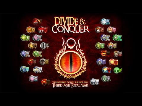 Установка Divide and Conquer v1.2 [Medieval 2: Total War + Third Age (3.2)]