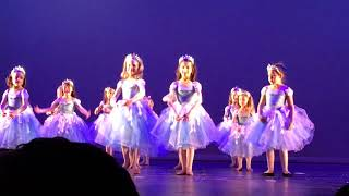 Victoria Nutcracker Ballet - Dance of the Snowflakes 12-1-18