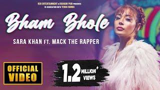 Bham Bhole (Official Video) Sara Khan | Mack The Rapper | New Song 2020 | Hindi Song 2020