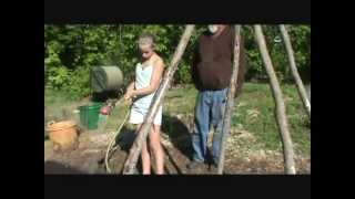 How to Plant Pole Beans & Okra