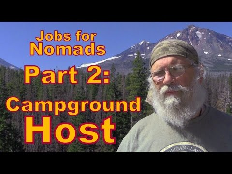 Jobs for Nomads Part 2: Campground Hosting in National Forests