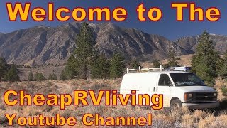 Welcome to the CheapRVliving Channel!! thumbnail