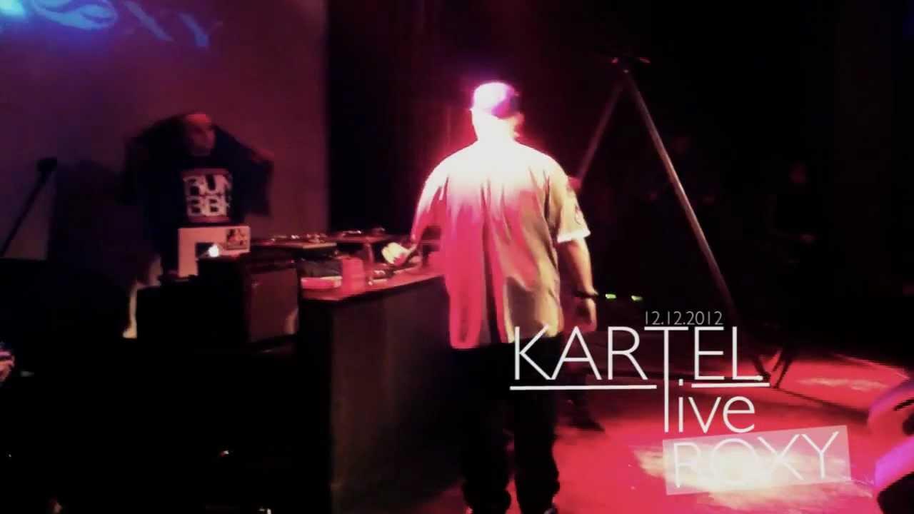 Kartel - Jsme líný / live ROXY PRAGUE/