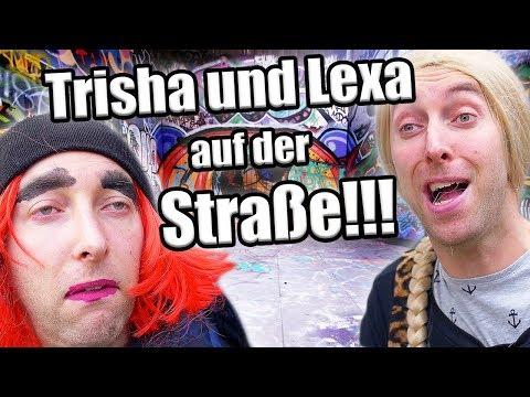 Lexa und Trisha chillen auf der Straße!