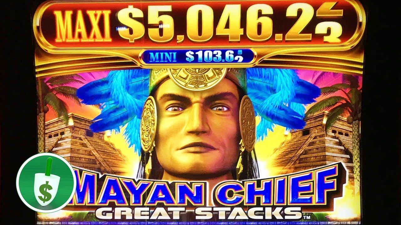 Mayan chief slot machine