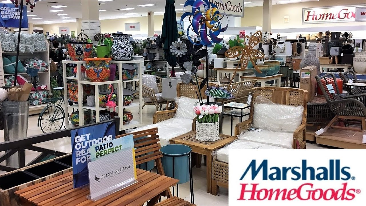 Marshalls Home Goods Summer Outdoor Furniture Decor Shop