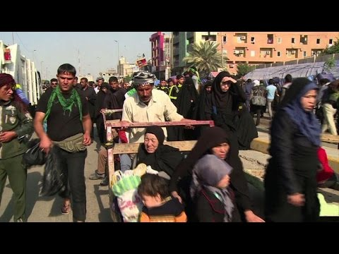 Shiite Muslims flock to Iraq's Karbala for religious festival