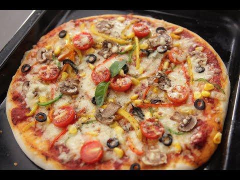 Veggie Pizza | Sanjeev Kapoor Khazana