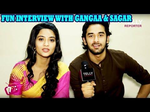 Aditi Sharma & Vishal Vashishtha aka Gangaa & Sagar Answer Fun Questions Of Their Fans