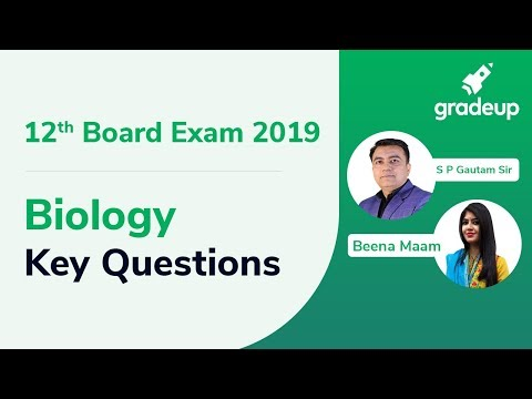 Most Important Questions for CBSE Class 12 Biology 2019