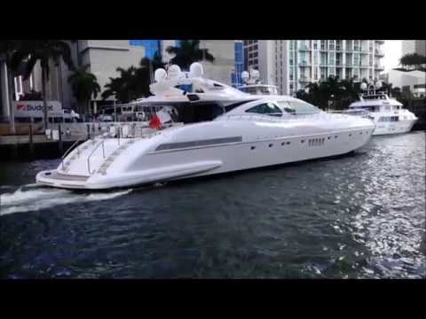 boating  - Brickell from waterside