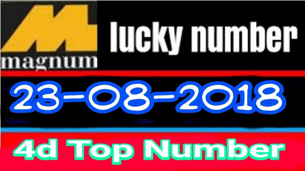 Magnum 4d 23/08/2018 | Malaysian lottery magnum | Singapore toto magnum  damacai | lottery number™☠