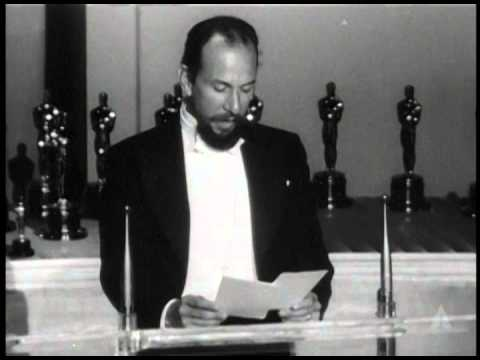 José Ferrer Presents SciTech Awards: 1950 Oscars