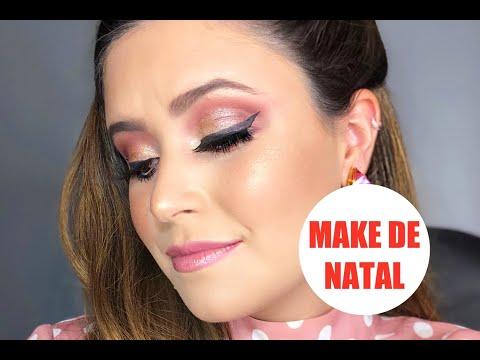 MAKE PARA NOITE DE NATAL
