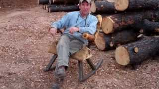 Making More Modern Rustic Log Furniture by Mitchell Dillman