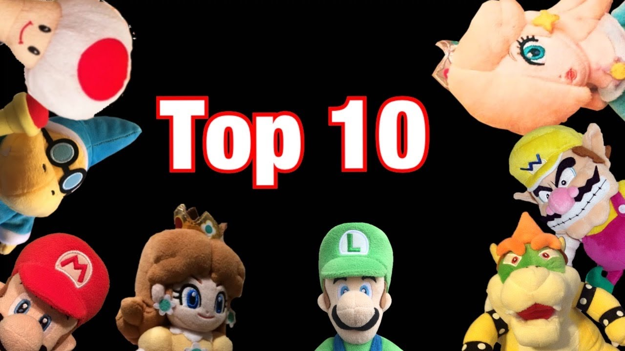 Top 10 Official Mario Plushes