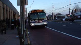 MTA New York City Bus: S53, S78 and S79 +SBS+ @ Hylan Boulevard & Clove Road!