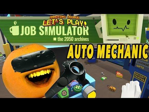 Annoying Orange - Job Simulator #2: Auto Mechanic Barftacular!