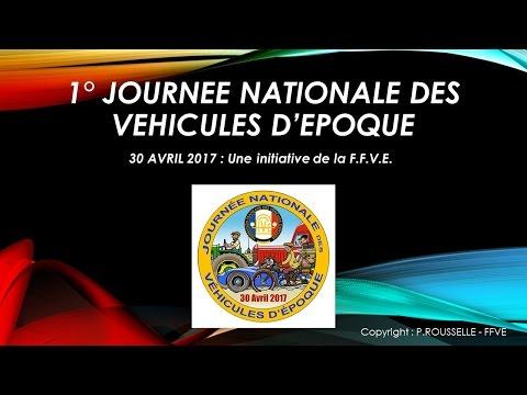 JNVE - Journée Nationale des Véhicules d'Epoque 2017