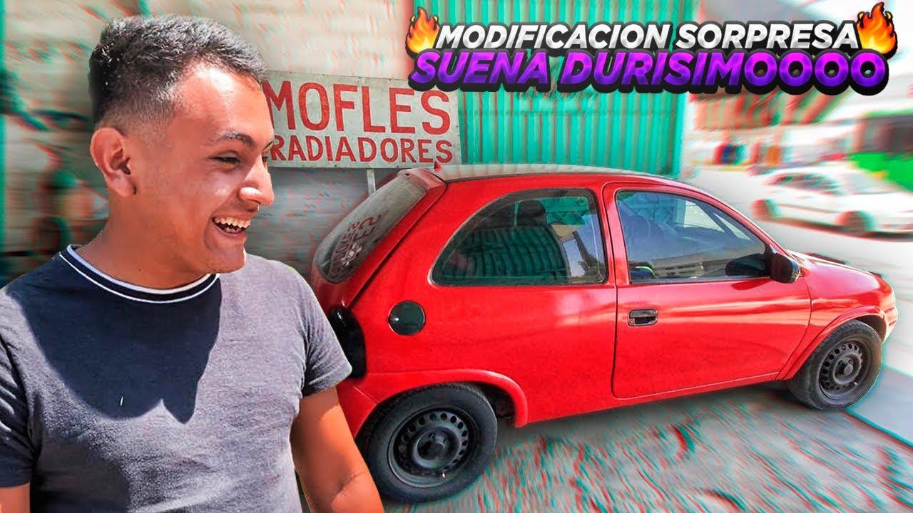 MODIFICÓ EL CHEVY DE JOHAN SORPRESA...   OswyLopez