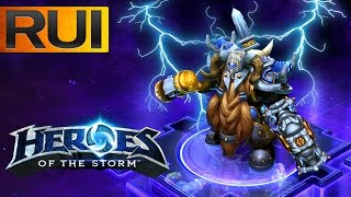 Heroes of the Storm - Haymaker Muradin, gotta love it!