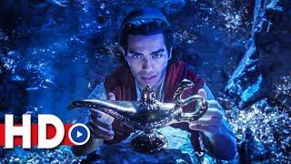 Aladdin Teaser Trailer (2019) Will Smith, Mena Massoud, Naomi Scott