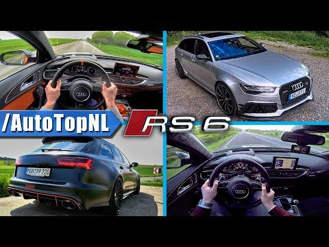 BEST of AUDI RS6 C7 STOCK & TUNED | LOUD! SOUNDS ACCELERATIONS & POV by AutoTopNL