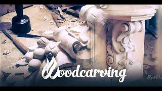 Woodcarving Baroque Consoles ►► Урок Резьба по дереву Консоль Барокко