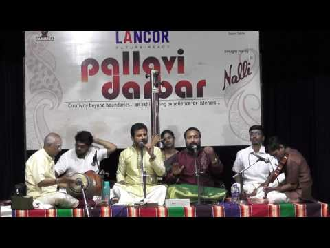 Pallavi Classic Combo l  Carnatica & Parthasarathy Swami Sabha l Pallavi Darbar  2017