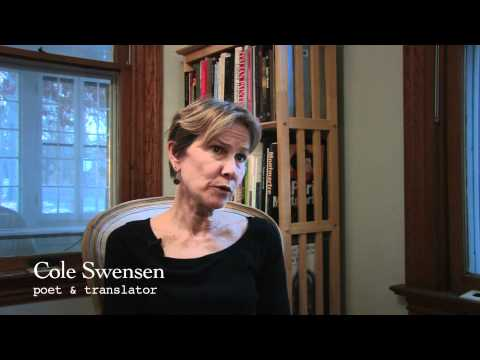 Writers On the Fly: Cole Swensen