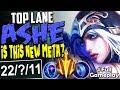 TOP LANE ASHE   IS THIS NEW META?   LETHAL TEMPO Ashe vs Renekton TOP BUILD SEASON 8 Gameplay